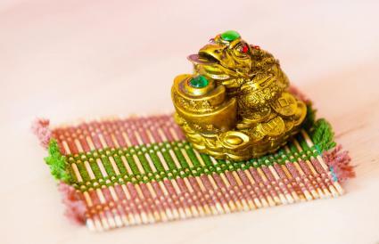 Rana china del dinero de Feng Shui