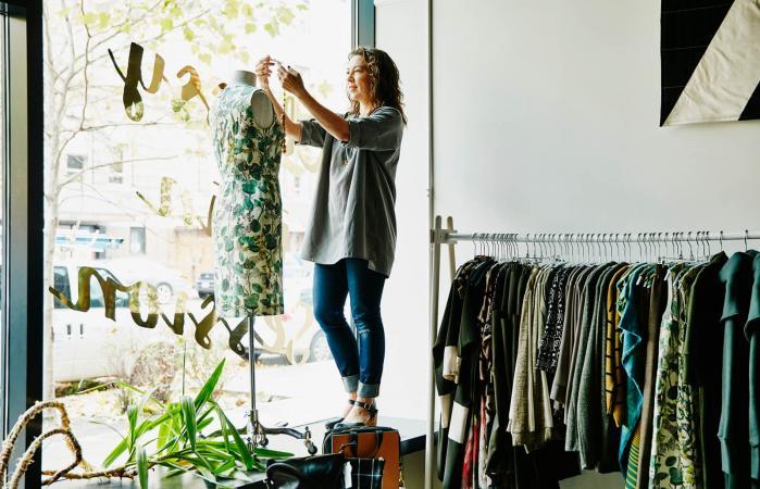 Mujer propietaria de un negocio