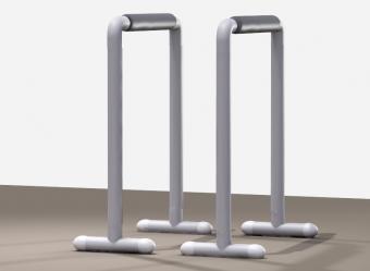 Homemade dip stand