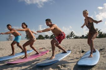 surfing exercise