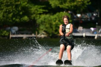water ski exercise