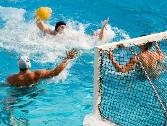 water polo exercise