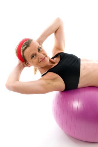 Exercise balls mix it up!