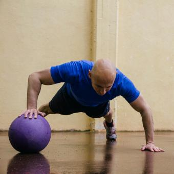 Rolling Push Up