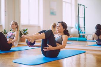 Pilates Sample Exercises Pictures