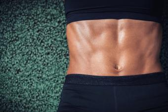 Pictures of Ripped Women's Abs
