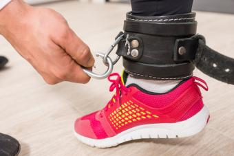 Use Ankle Straps When Exercising