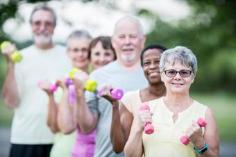 Exercises for Seniors With Pictures