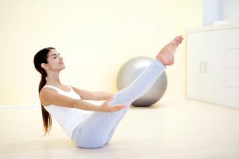 Pilates Thigh Lengthening Exercises