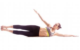 Side leg lift exercise