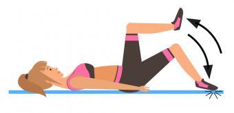 Pilates Toe Taps