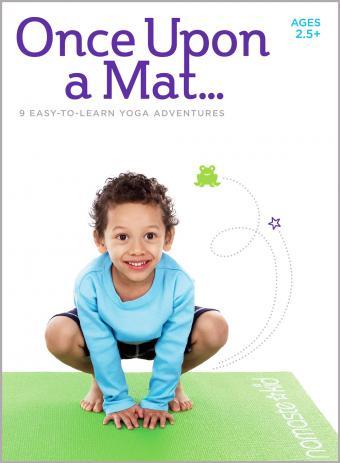 Kids Yoga DVD - Once Upon a Mat