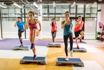 Online Step Aerobics Options