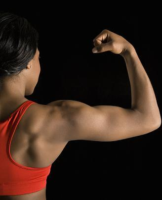 female bicep pictures  lovetoknow