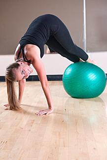 Stability Ball Pike