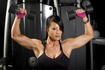 Woman working out; © Charles Knox Photo Inc. | Dreamstime.com