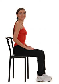 leg exercises sitting down
