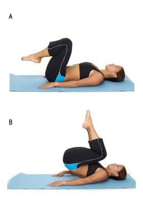 Reverse Crunch Exercise