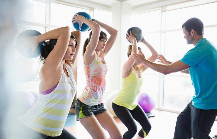 Slam Ball Exercises