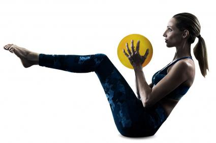 Danskin weighted toning ball