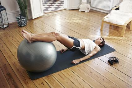 photo about Printable Exercise Ball Workouts named Free of charge Health Ball Exercise routines LoveToKnow