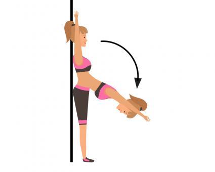 Pilates Standing Roll