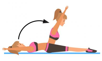 Pilates Roll Ups