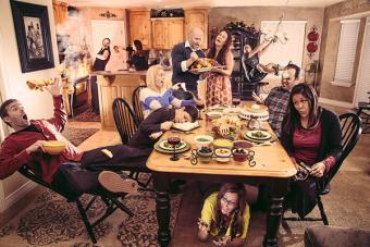 Family Thanksgiving image by Louish Pixel