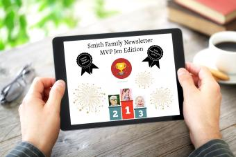 Awesome Family Newsletter Theme Ideas