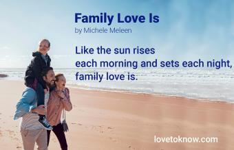 Haiku poem about family love