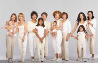 Group of multi-generational family