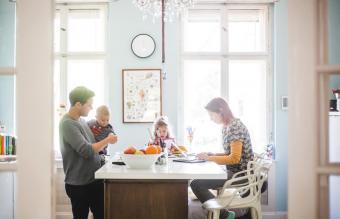 family morning dynamic
