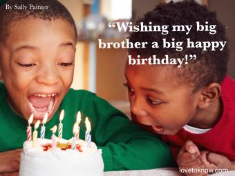 Birthday Quote for Brother