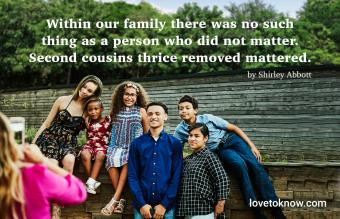 Cousin quote by Shirley Abbott