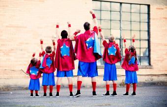 Family of super heros