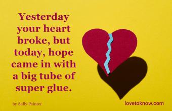 Broken family quote for healing