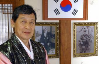 Yi Seok, last in the Korean royal line still in the country