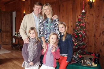 The Prince Of Orange And Princess Maxima Of The Netherlands And Family