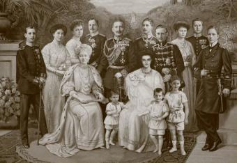 Kaiser Wilhelm II Family