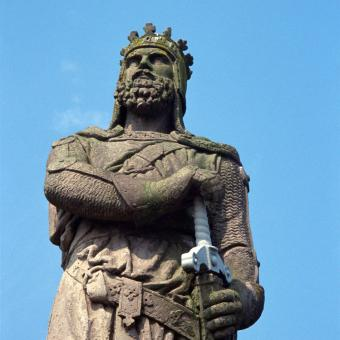 Robert the Bruce in Scotland