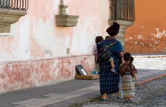 Guatemalan Maya Family
