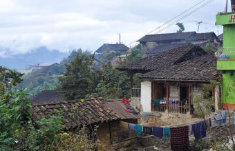 Old village in Guatemala