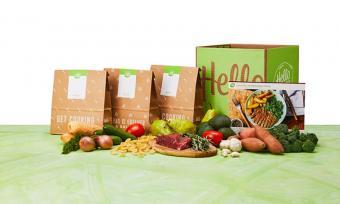 Hello Fresh meal kit