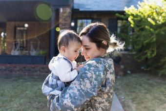How Military Families Cope With Being Apart