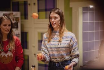 Juggling Oranges at home