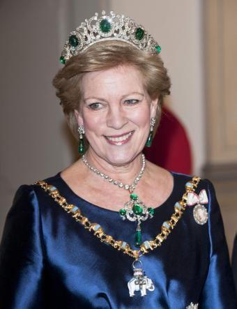 Queen Anne Marie Of Greece