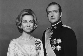 Queen Sofia and King Juan Carlos