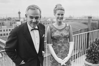 Prince Rainier III of Monaco and Princess Grace of Monaco