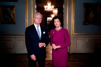King Carl XVI Gustaf and Queen Silvia of Sweden