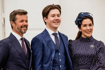 Prince Christian Of Denmark Confirmation